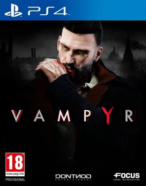 Vampyr PS4 Cover
