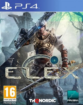 ELEX PS4 Cover