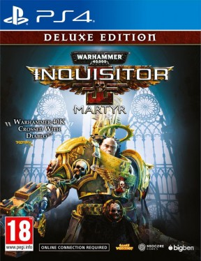 Warhammer 40,000: Inquisitor – Martyr PS4 Cover
