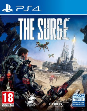 The Surge PS4 Cover