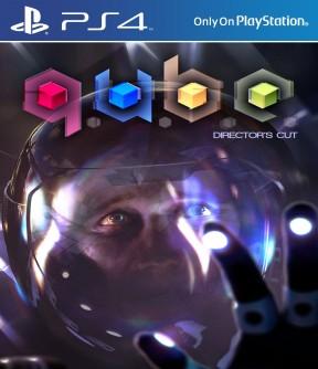 Q.U.B.E. - Director's Cut PS4 Cover