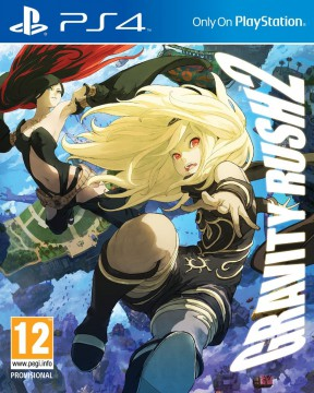 Gravity Rush 2 PS4 Cover