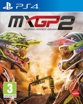 MXGP 2: The Official Motocross Videogame PS4 Cover