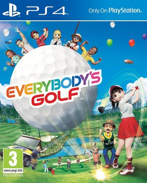 New Everybody's Golf PS4 Cover