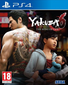 Yakuza 6: The Song of Life PS4 Cover