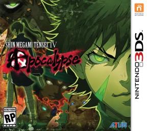 Shin Megami Tensei IV: Apocalypse 3DS Cover