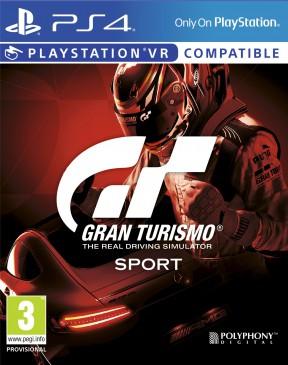 Gran Turismo: Sport PS4 Cover