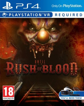 Until Dawn: Rush of Blood PS4 Cover
