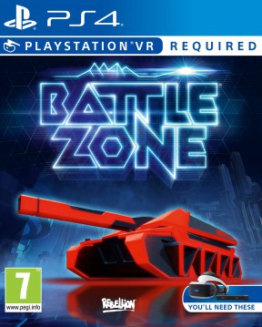 Battlezone (VR) PS4 Cover