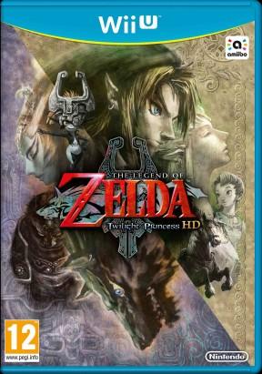 The Legend of Zelda: Twilight Princess HD Wii U Cover