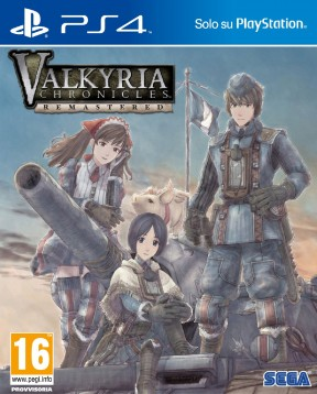 Valkyria Chronicles Remastered PS4 Cover