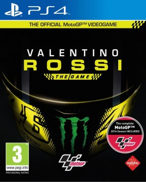 Valentino Rossi: The Game PS4 Cover