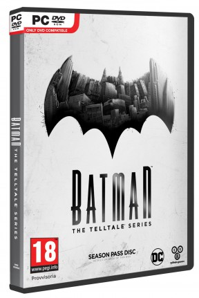 Batman - The Telltale Series PC Cover
