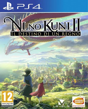 Ni No Kuni II: Il Destino di un Regno PS4 Cover