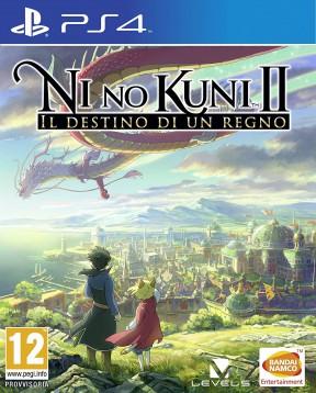 Ni no Kuni II Revenant Kingdom PS4 Cover
