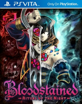 Bloodstained: Ritual of the Night PS Vita Cover
