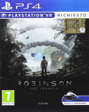 Robinson: The Journey PS4 Cover