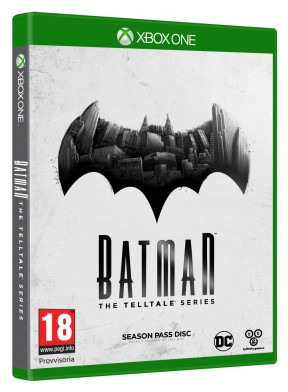 Batman - The Telltale Series Xbox One Cover