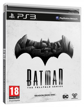 Batman - The Telltale Series PS3 Cover