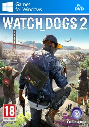 Watch Dogs 2 PC Cover