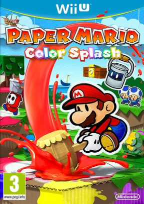 Paper Mario: Color Splash Wii U Cover