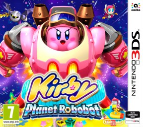 Kirby: Planet Robobot 3DS Cover