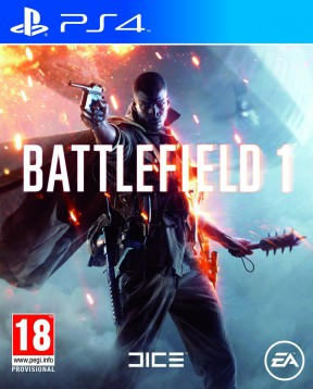 Battlefield 1 PS4 Cover