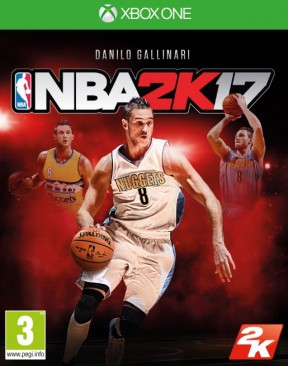 NBA 2K17 Xbox One Cover