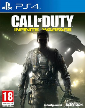 Call of Duty: Infinite Warfare PS4 Cover