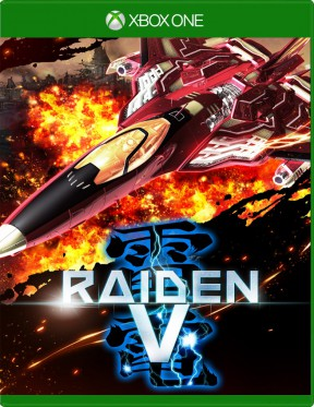 Raiden V Xbox One Cover