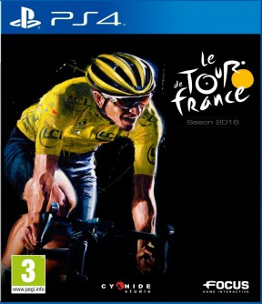 Le Tour de France 2016 PS4 Cover