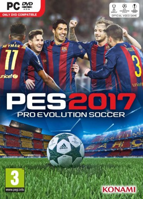PES 2017 PC Cover
