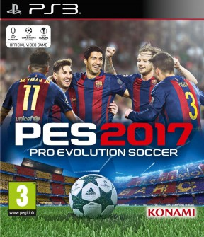 PES 2017 PS3 Cover