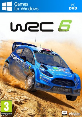 WRC 6 PC Cover