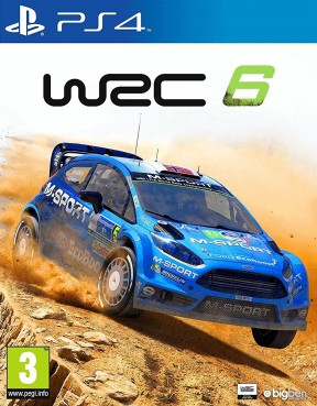 WRC 6 PS4 Cover