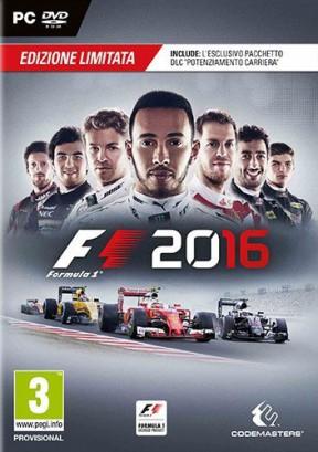 F1 2016 PC Cover