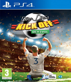 Dino Dini's Kick Off Revival PS4 Cover