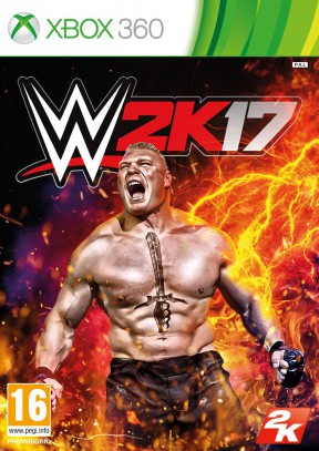 WWE 2K17 Xbox 360 Cover
