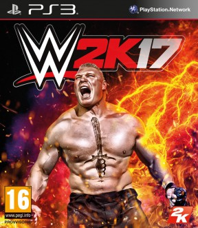WWE 2K17 PS3 Cover