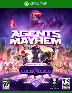 Agents of Mayhem Xbox One Cover