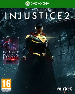 Injustice 2 Xbox One Cover