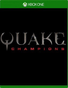 Quake Champions Xbox One Cover