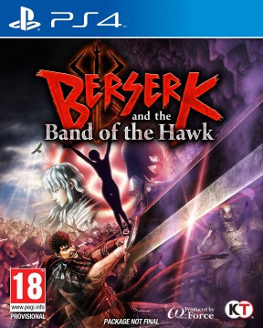 Berserk and the Band of the Hawk PS4 Cover