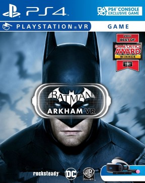 Batman: Arkham VR PS4 Cover