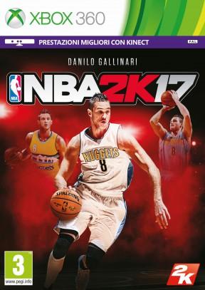 NBA 2K17 Xbox 360 Cover