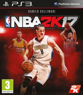 NBA 2K17 PS3 Cover