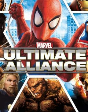 Marvel: Ultimate Alliance Bundle PS4 Cover