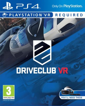 DriveClub VR PS4 Cover