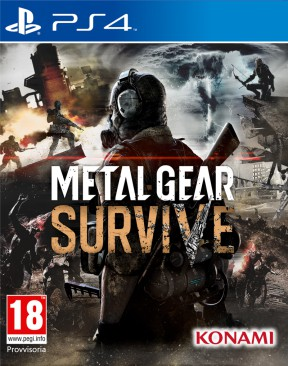Metal Gear Survive PS4 Cover