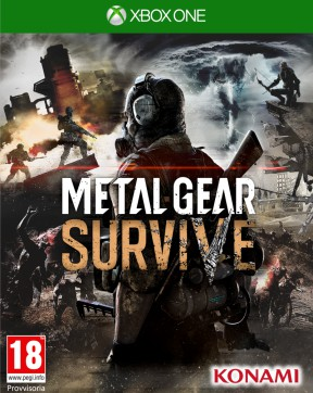 Metal Gear Survive Xbox One Cover
